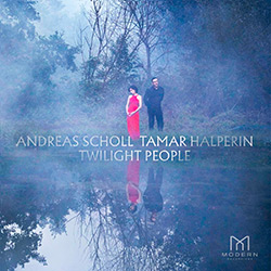 the cover of Andreas Scholl and Tamar Halperin's new CD