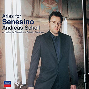 Arias for Senesino CD image